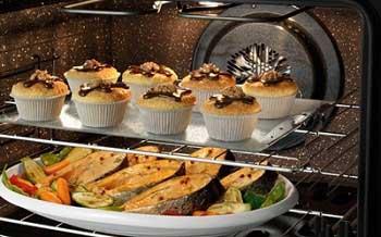 Что дает конвекция в духовке: принудительный и естественный режим