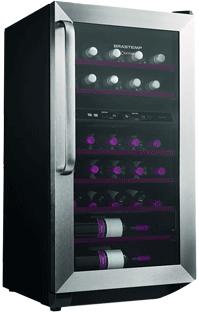 Холодильник для вина или правильно храним домашнюю коллекцию вин в бутылках