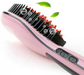 Электрическая расчёска-выпрямитель для красивых волос