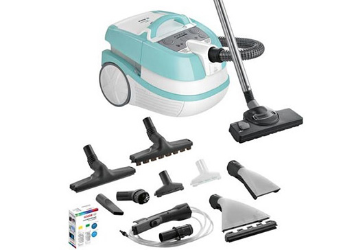 Пылесос BOSCH BWD420HYG AquaWash & Clean