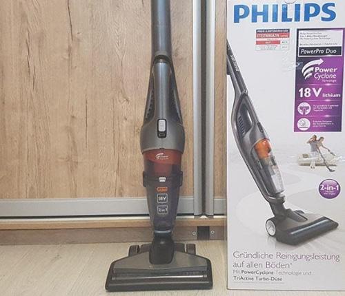 Вертикальный пылесос Philips-PowerPro-Duo-FC6168