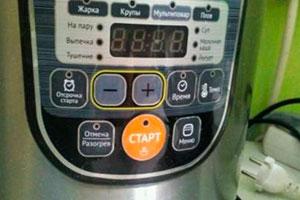 Мультиварка с термостатом