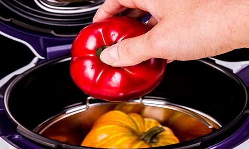 Приготовление еды в мультиварке с термостатом