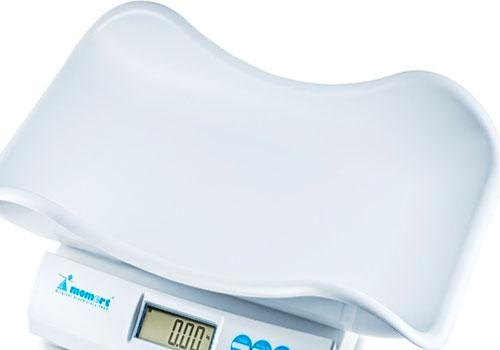 Вид весов для малышей
