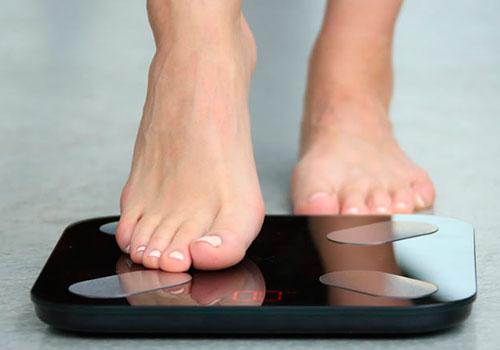 Взвешивание на умных весах